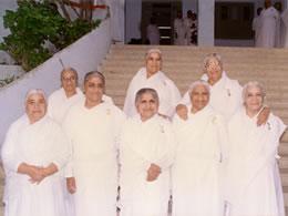 Brahma Kumaris ashram - All Dadis
