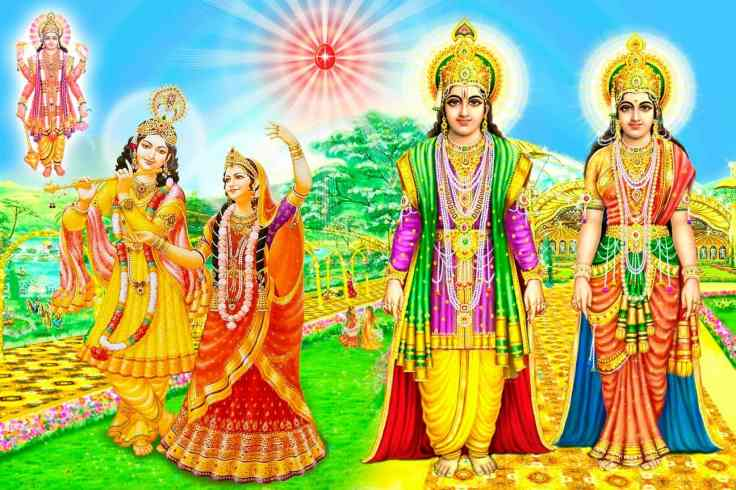 Shri Lakshmi Narayan - Devi Devta form