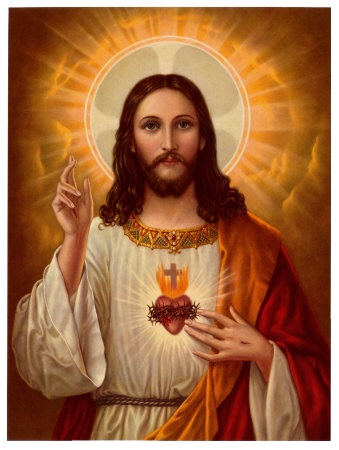 Jesus Christ points to God