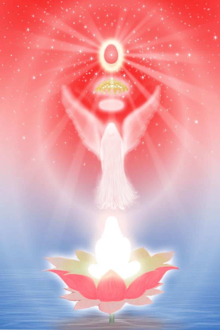 Angel form with Shiv Baba - Brahma Kumaris