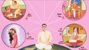 5 vices of soul - Brahma Kumaris