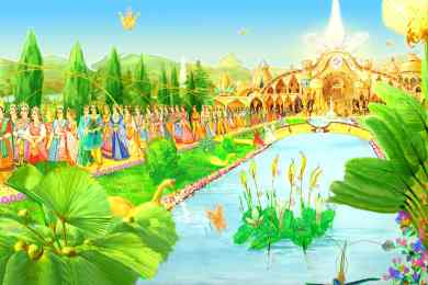 Festival or Gathering -Glance of Golden Age - Satyug - Heaven - New World -BK