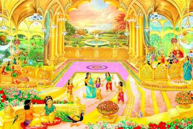 Gold Palaces - Glance of Golden Age - Satyug - Heaven - New World BK