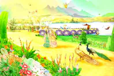 All elements are Pure -Glance of Golden Age - Satyug - Heaven - New World - BK