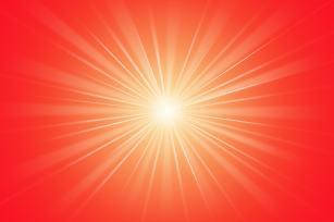 Shiv Baba glow rays light image - BK