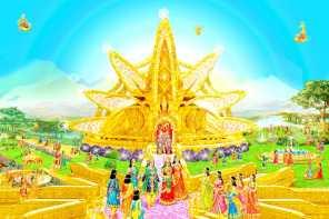 Gold Everywhere -a Glance of Golden Age - Satyug - Heaven - New World BK