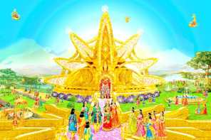 Gold Everywhere -a Glance of Golden Age - Satyug - Heaven - New World BK