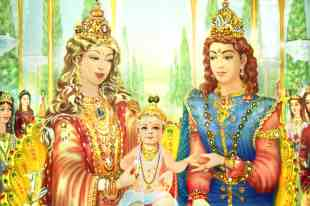 Birth of Shri Krishna in satyug