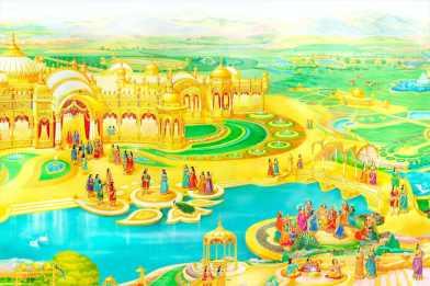(Lakes) Glance of Golden Age - Satyug - Heaven - New World -BK