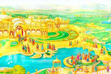 (Lakes) Glance of Golden Age - Satyug - Heaven - New World -BK